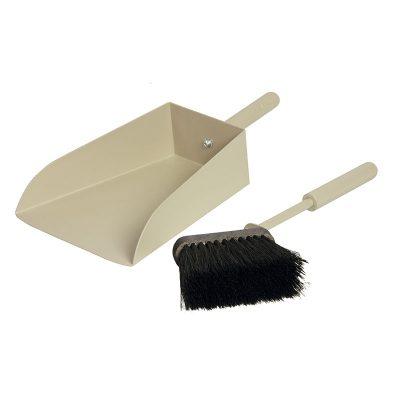 Shovel with brush